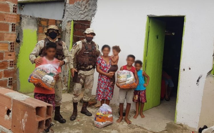 Cipe Polo Industrial distribui 221 kits de alimentos para famílias de Camaçari e Dias d'Ávila